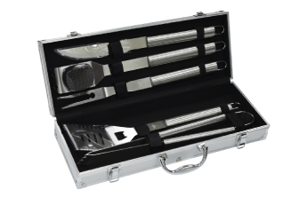 mallette 5 pieces acier inox GREADEN