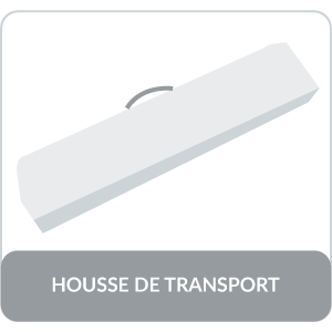 housse de transport barnum 3x4,5 32mm acier anticorrosion GREADEN