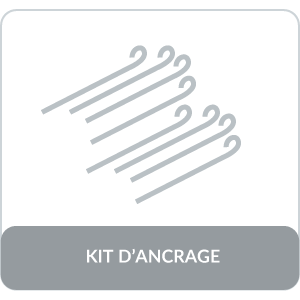 kit d'ancrage barnum 3x4,5 32mm GREADEN